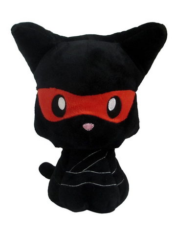 "Ninja Kitty 8"" Plush Doll"