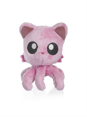 "Tentacle Kitty Little One (Pink) 4"" Plush Doll"