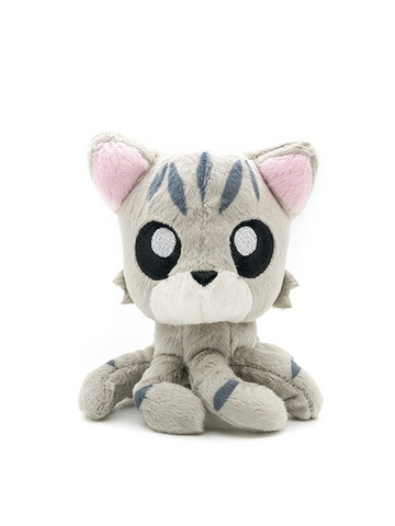 "Tentacle Kitty Little One (Grey Tabby) 4"" Plush Doll"