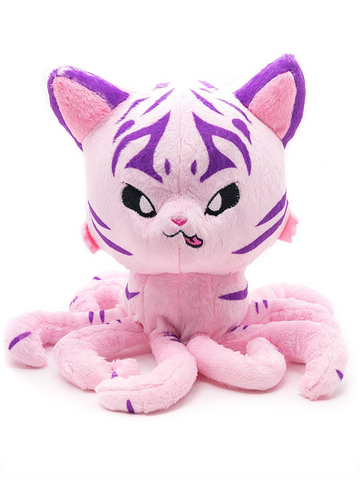 "Tentacle Kitty Huntress 8"" Plush Doll"