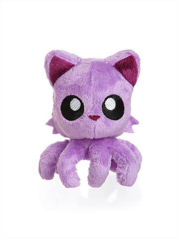 "Tentacle Kitty Little One (Purple) 4"" Plush Doll"