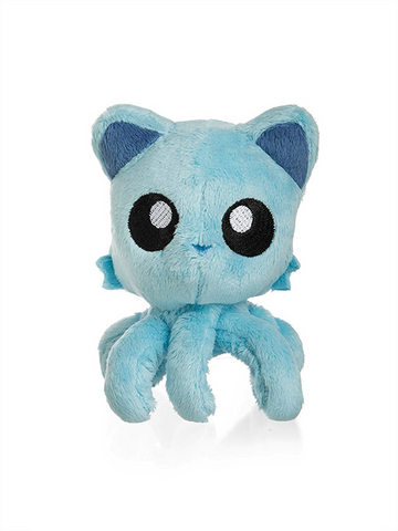 "Tentacle Kitty Little One (Teal) 4"" Plush Doll"
