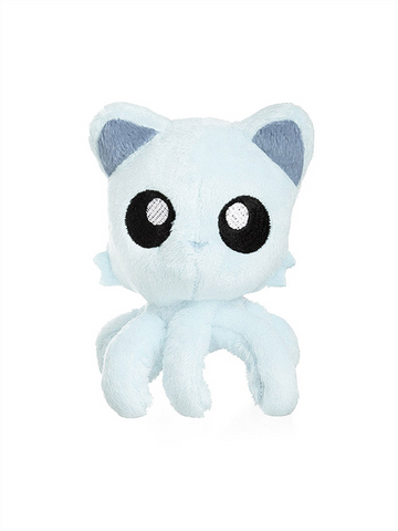 "Tentacle Kitty Little One (White) 4"" Plush Doll"