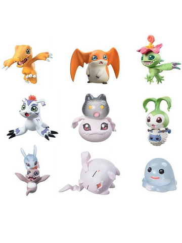 Digimon Digicolle Data 1 Trading Figures