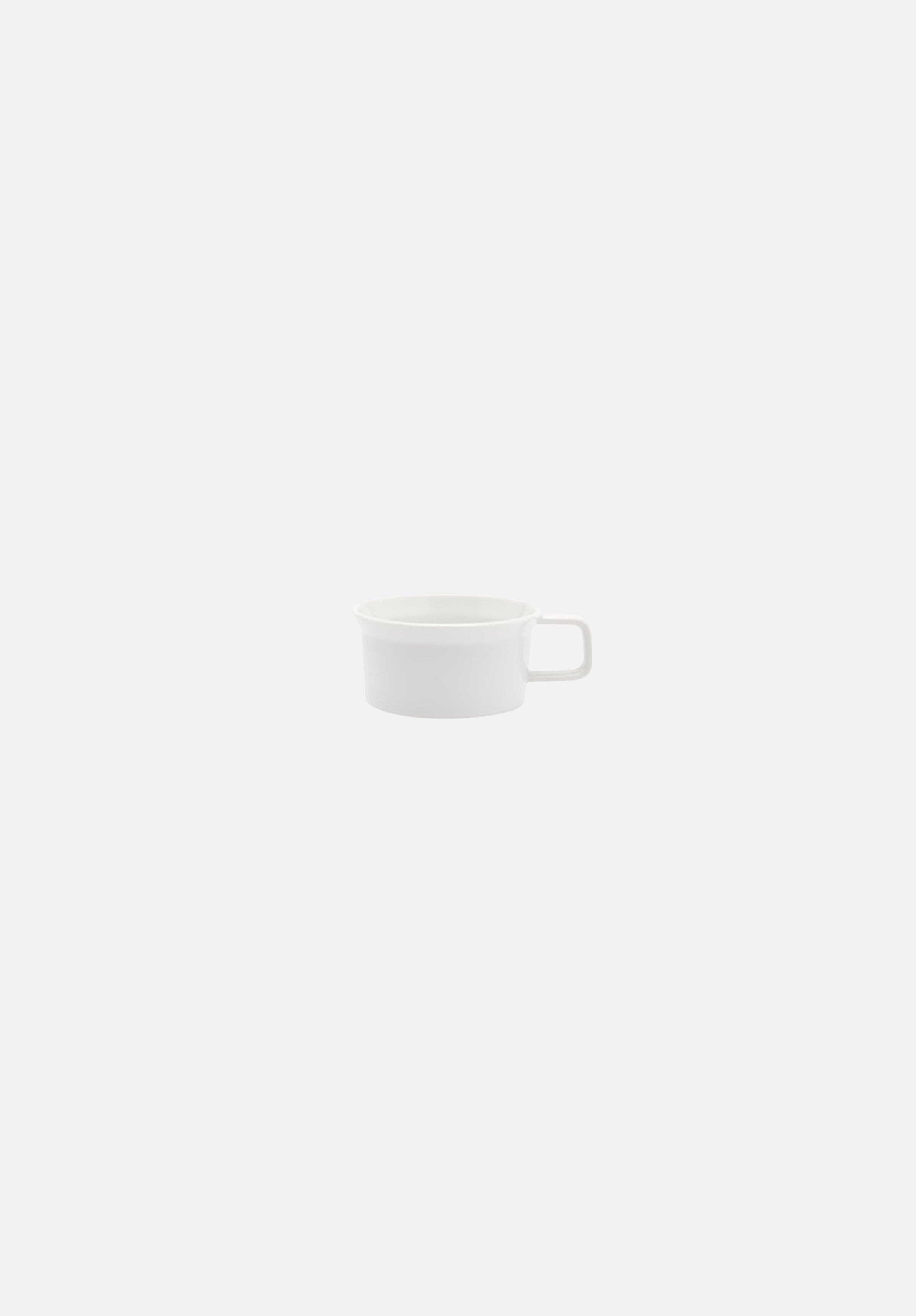 TY Standard — Tea Cups-Teruhiro Yanagihara-1616 Arita-White-Tea Cup w/Handle-Average