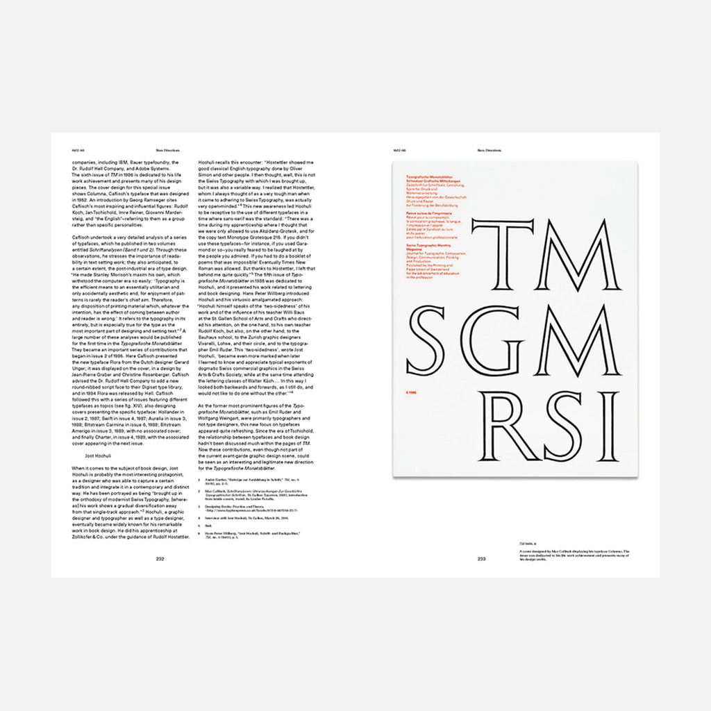 30 Years of Swiss Typographic Discourse