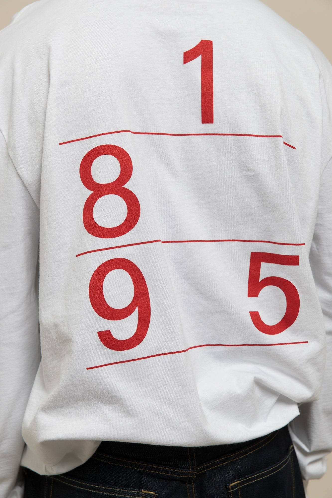 Call Now Long Sleeve - Red Actual Source Graphic Design Clothing Average Toronto Canada Design Store