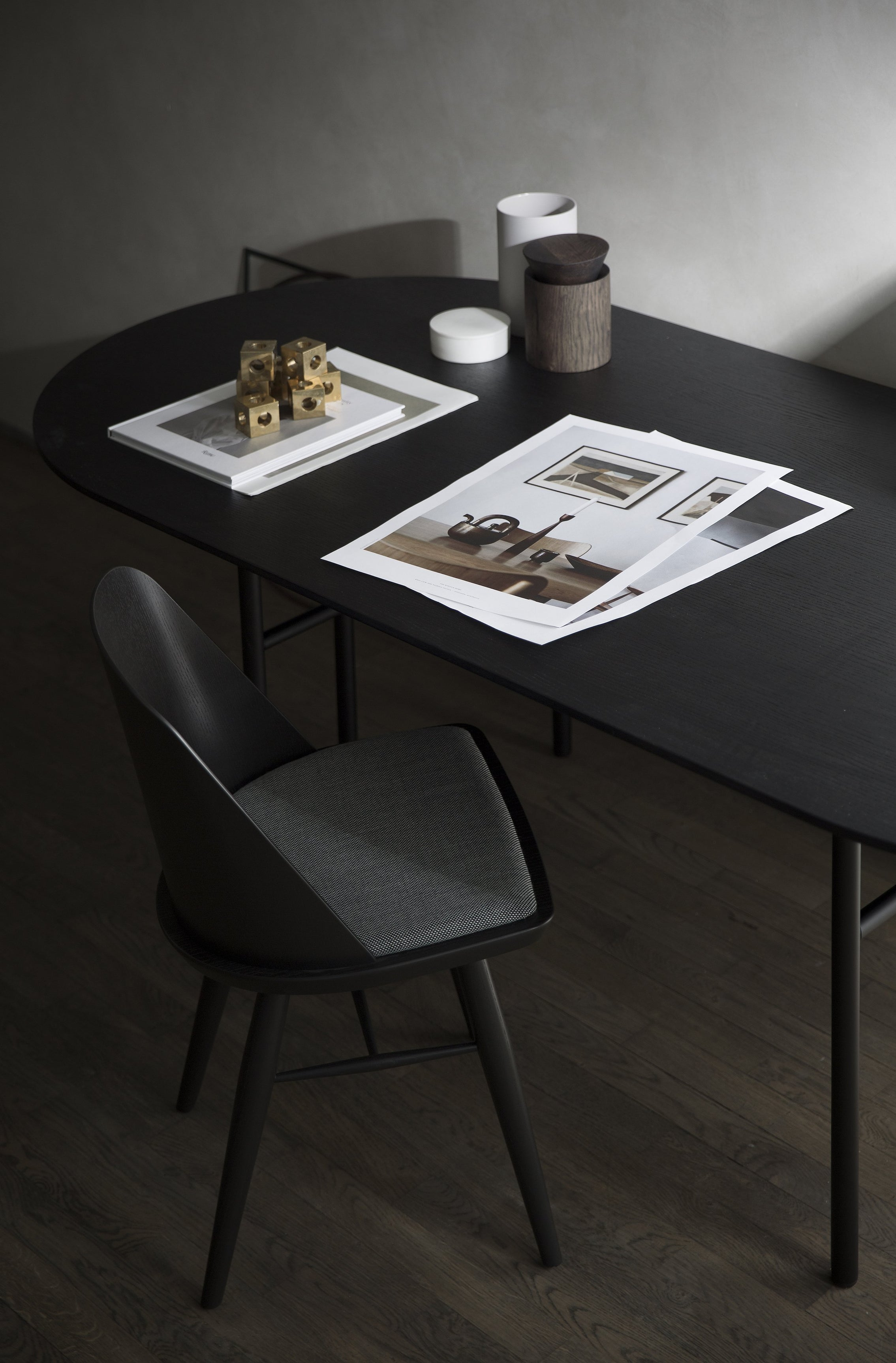 Snaregade Oval Table-Menu-Black Veneer-danish-interior-furniture-denmark-Average-design-toronto-canada