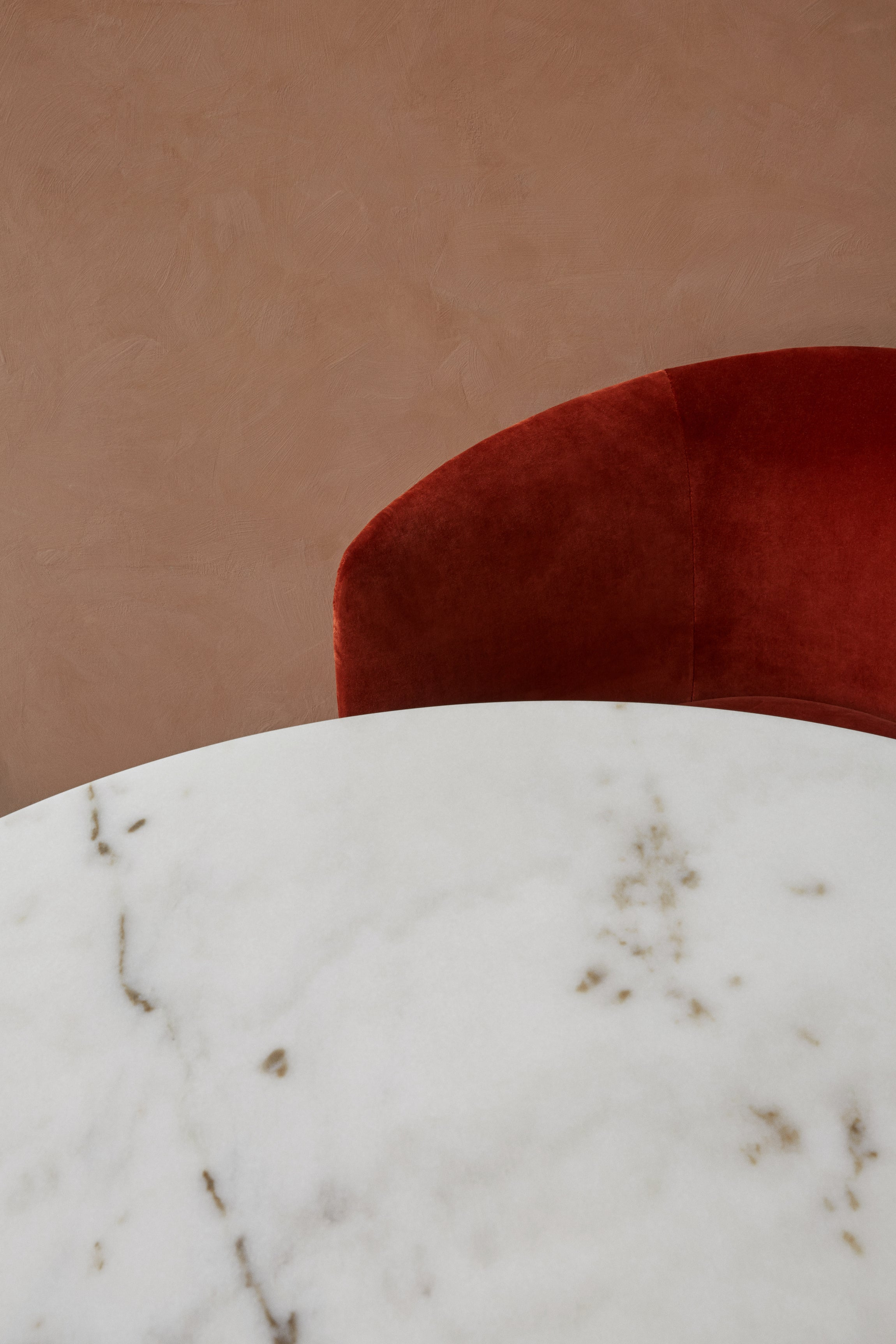 Harbour Column — Marble Dining Table