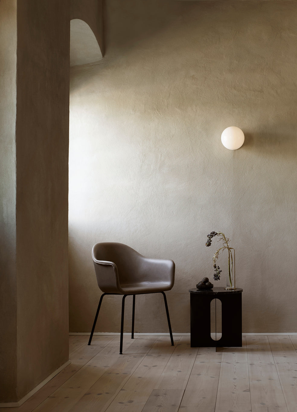 TR Wall/Ceiling Lamp-Tim Rundle-Menu-Black-Matte-Average