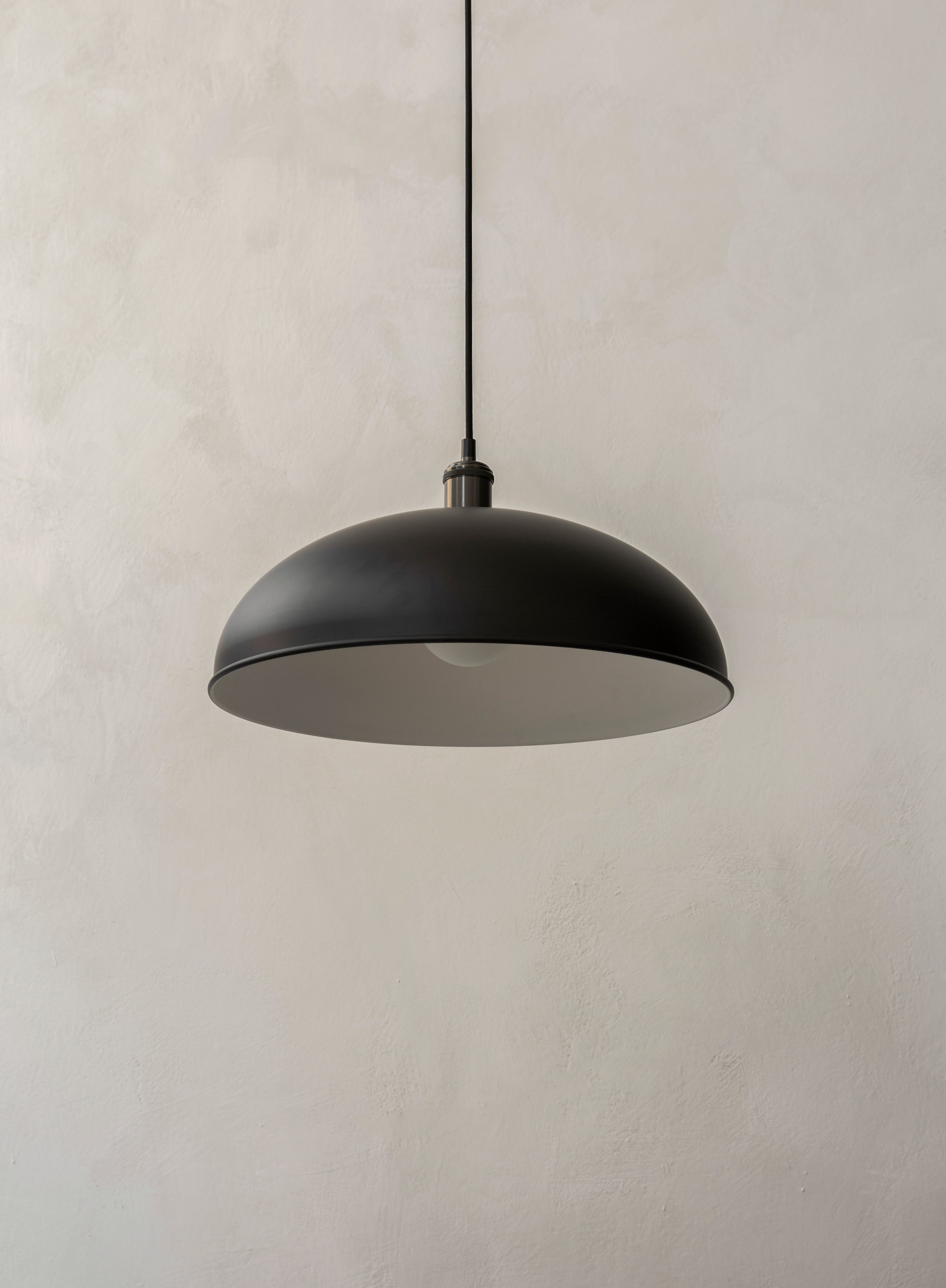 Hubert Pendant — 45cm-Søren Rose-Menu-Black-danish-interior-furniture-denmark-Average-design-toronto-canada