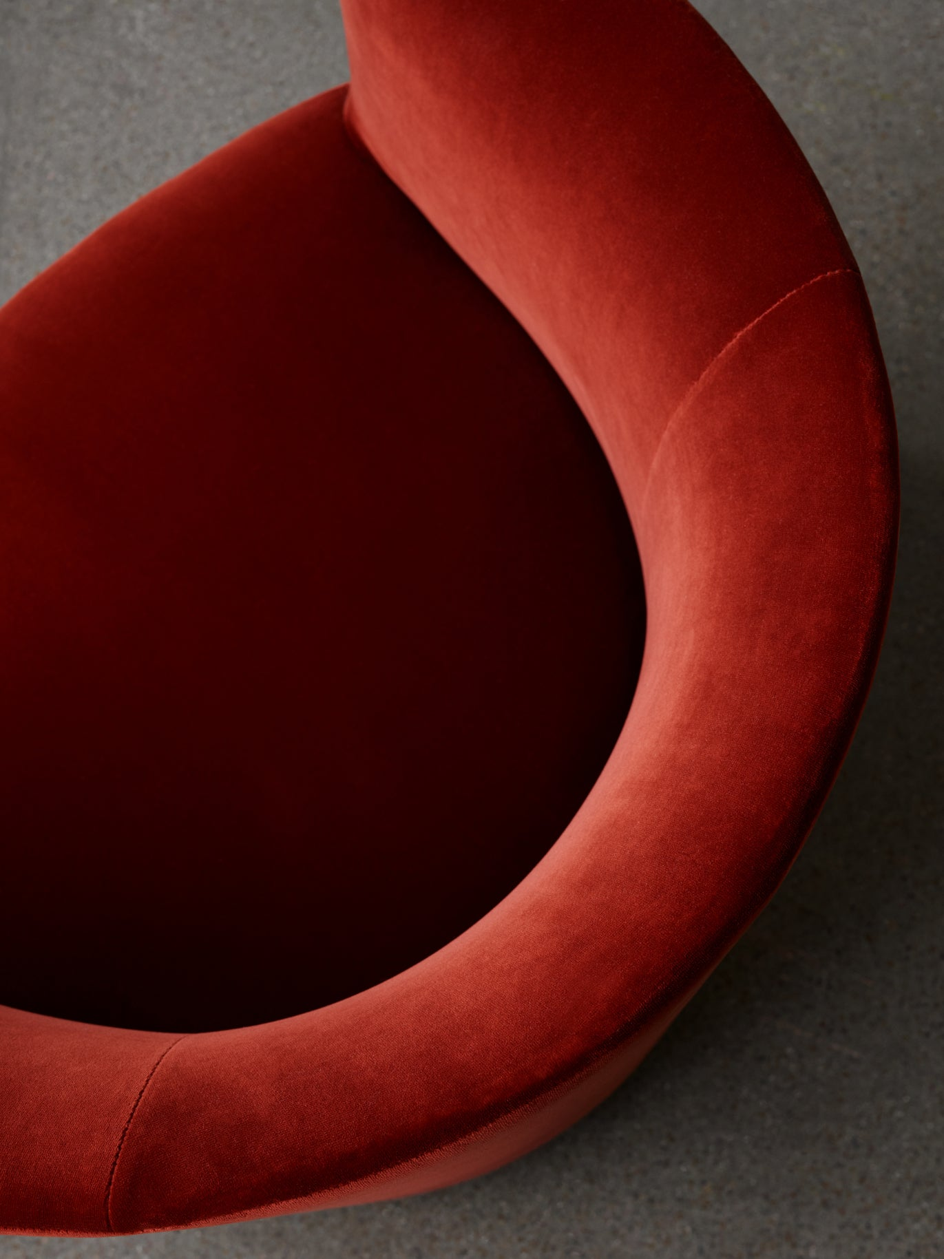 Tearoom — Club Chair-Nick Ross-Menu-Red Velvet-danish-interior-furniture-denmark-Average-design-toronto-canada