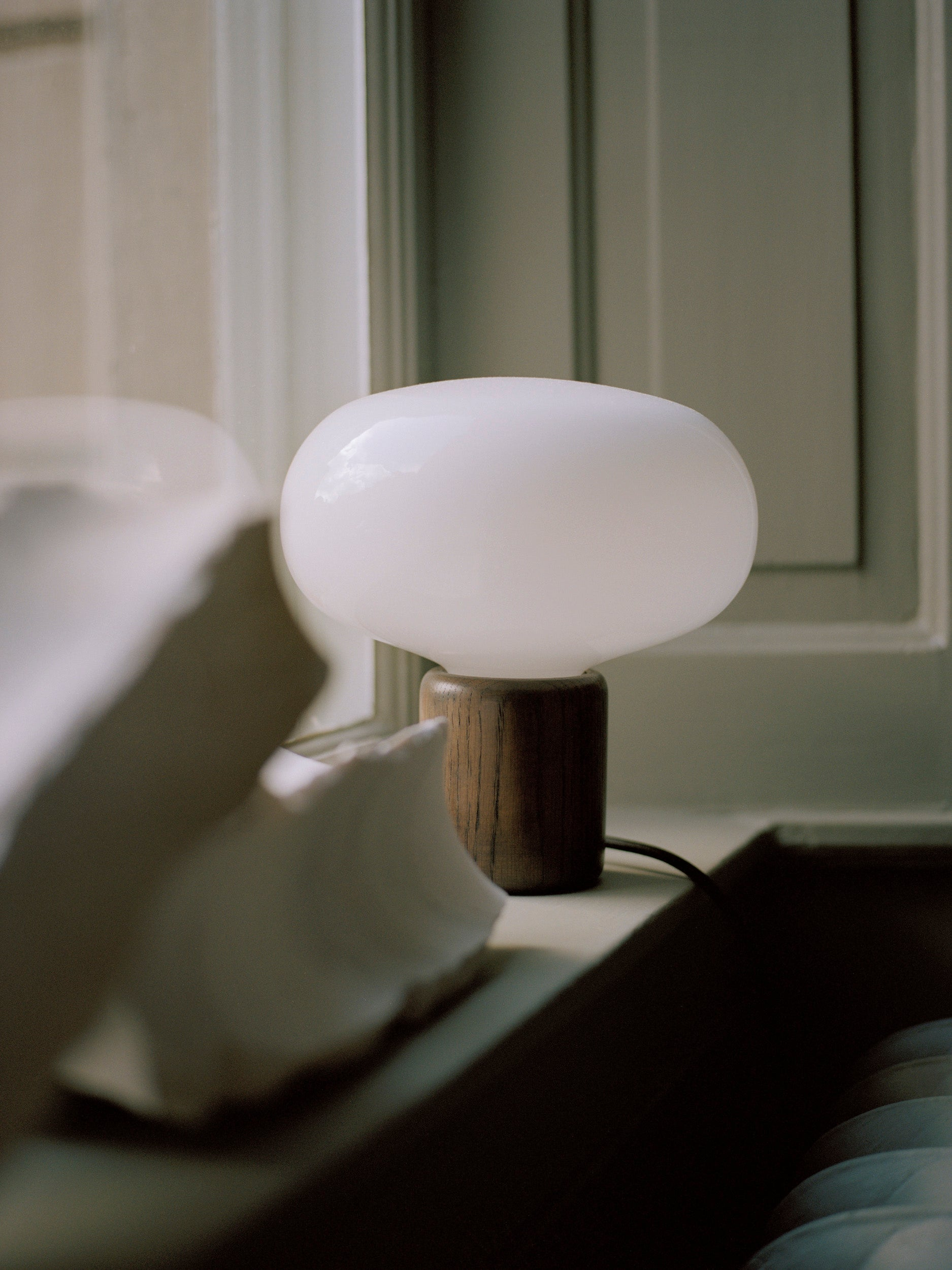Karl-Johan Table Lamp — Smoked Oak-Signe Hytte-New Works-Average