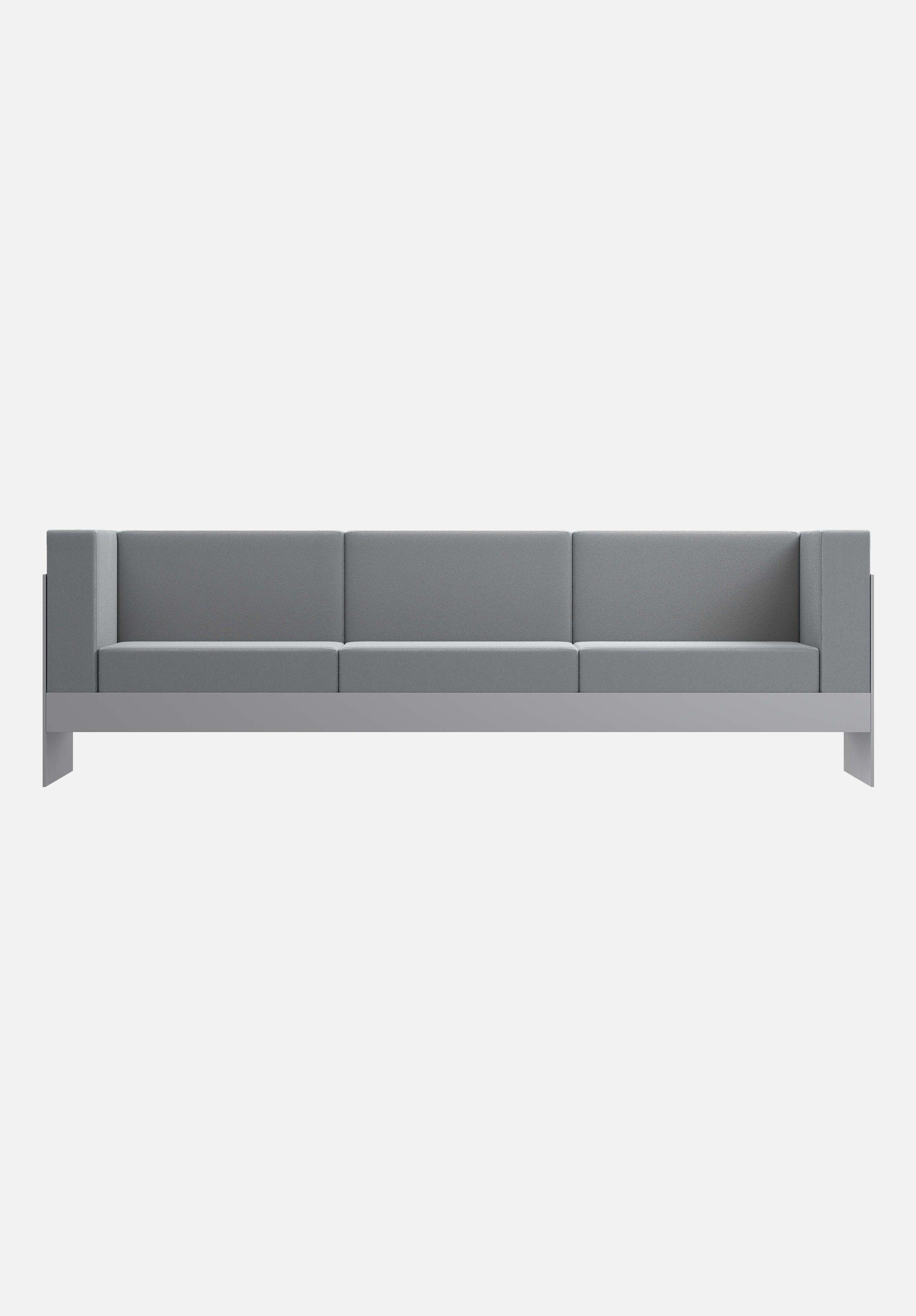 Standard Sofa — Medium Grey, 3 Seater-New Tendency-Medium Grey-Average