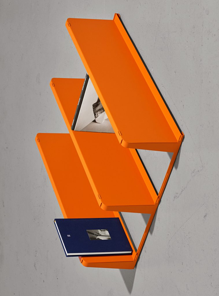 Click Shelf — Small Orange-Sigurd Larsen-New Tendency-Orange-Average