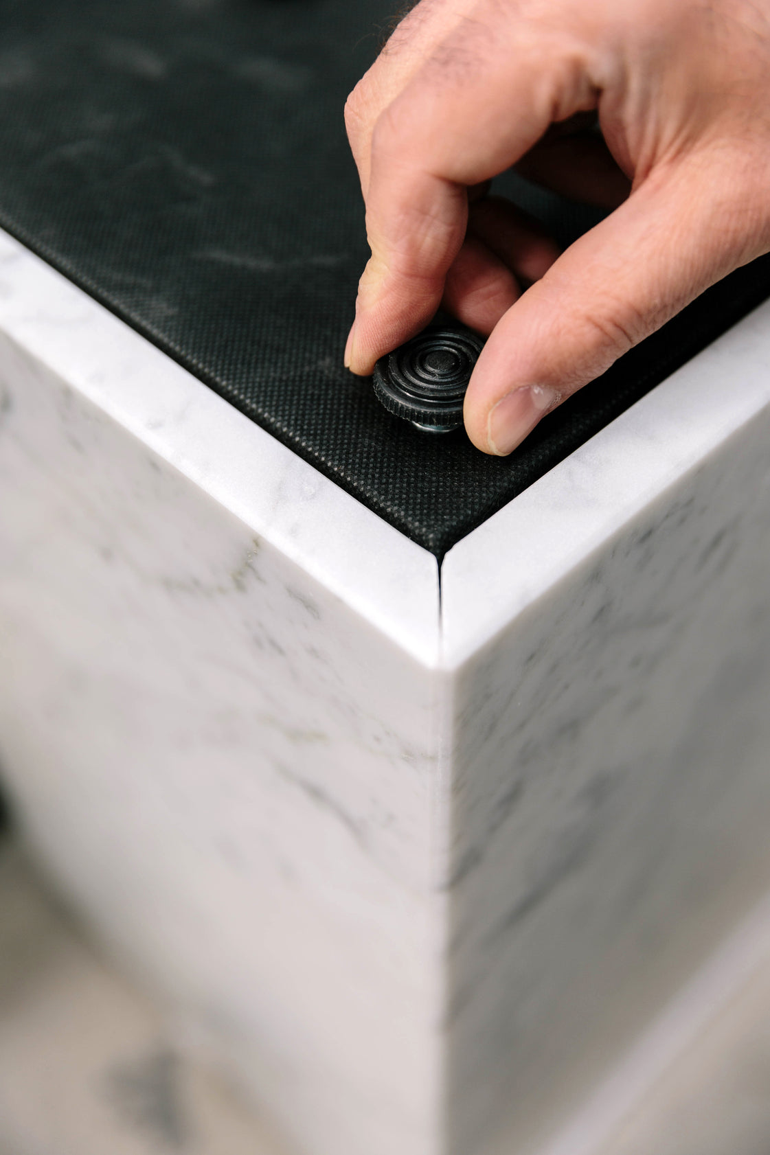 Cubic Plinth-Norm Architects-Menu-White Carrara-Average