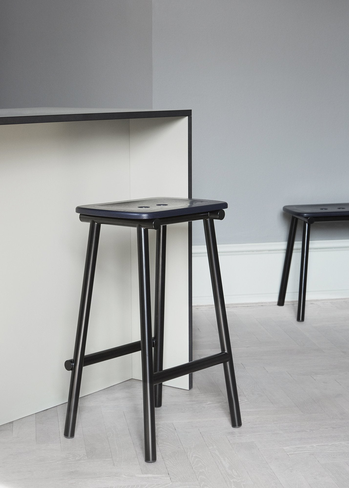Tubby Counter Stool-Faye Toogood-Please Wait to be Seated-Natural Ash-Average