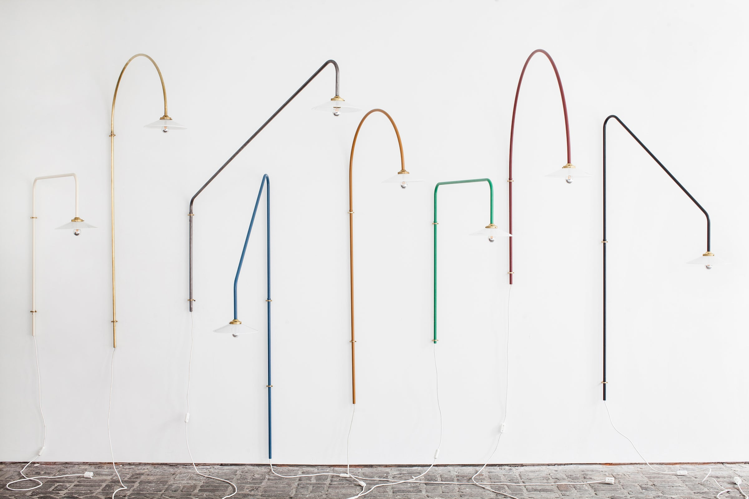Hanging Lamp N°2 — Brass