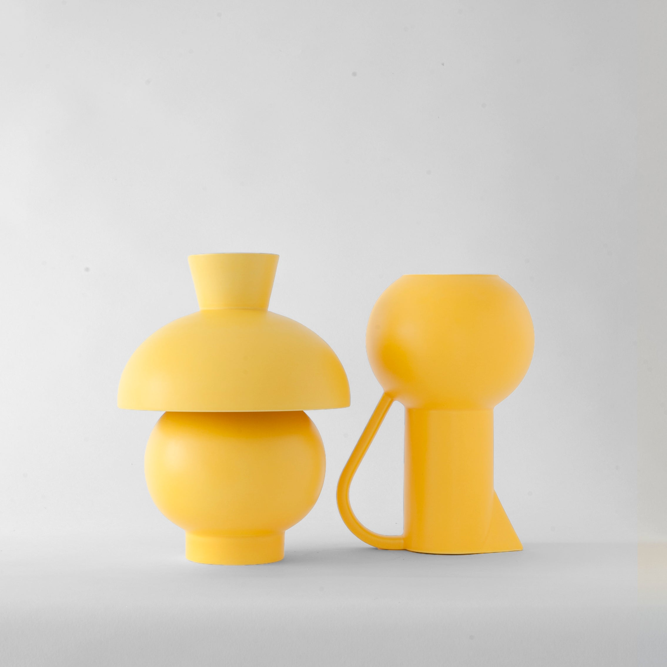 Strøm Vase — Large Yellow
