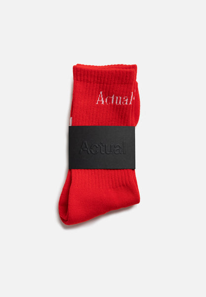 Socks — Red