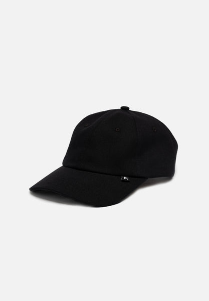 Heavy Twill Hat — Black