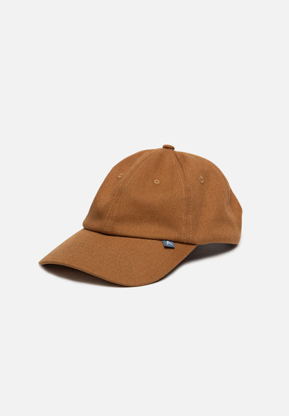 Heavy Twill Hat — Brown
