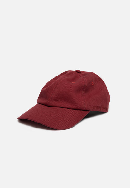 Heavy Twill Hat — Maroon Hat Actual Source Graphic Design Clothing Average Toronto Canada Design Store