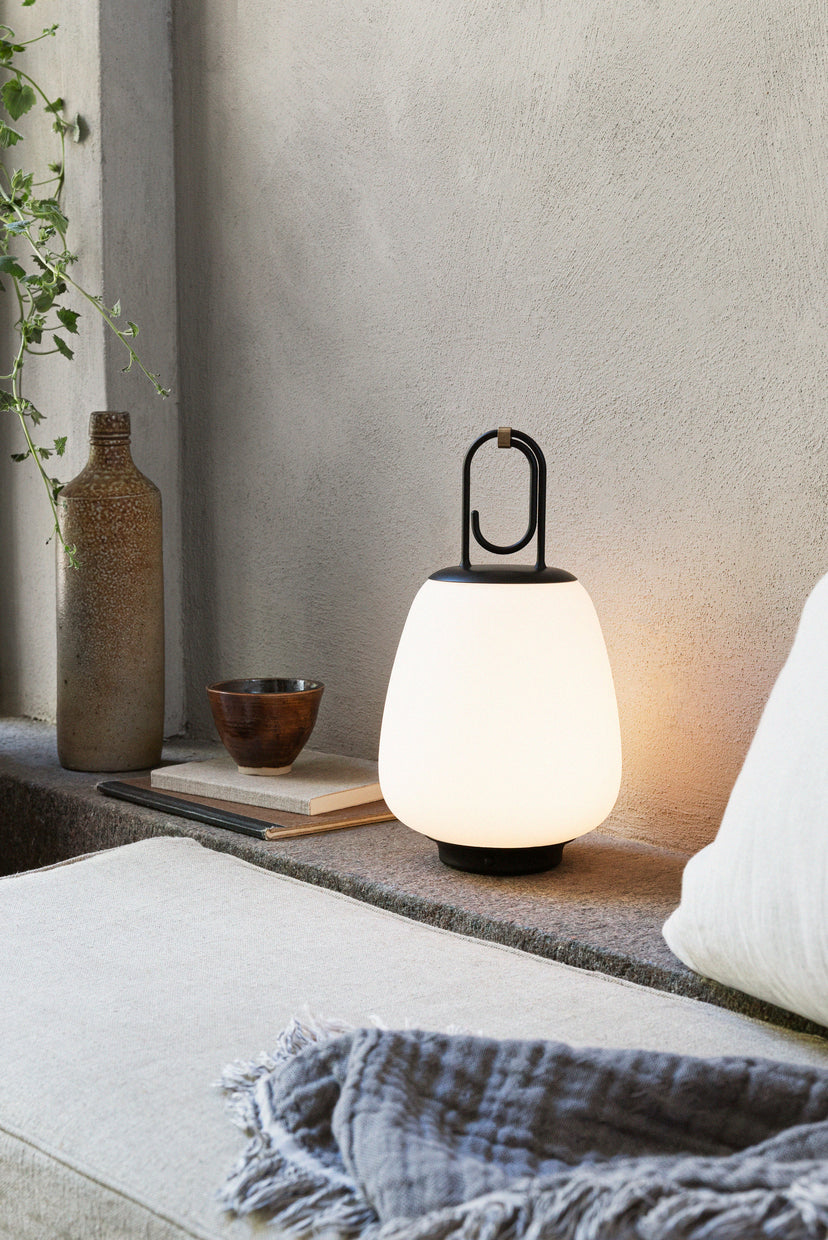 Lucca Portable Lamp — Black