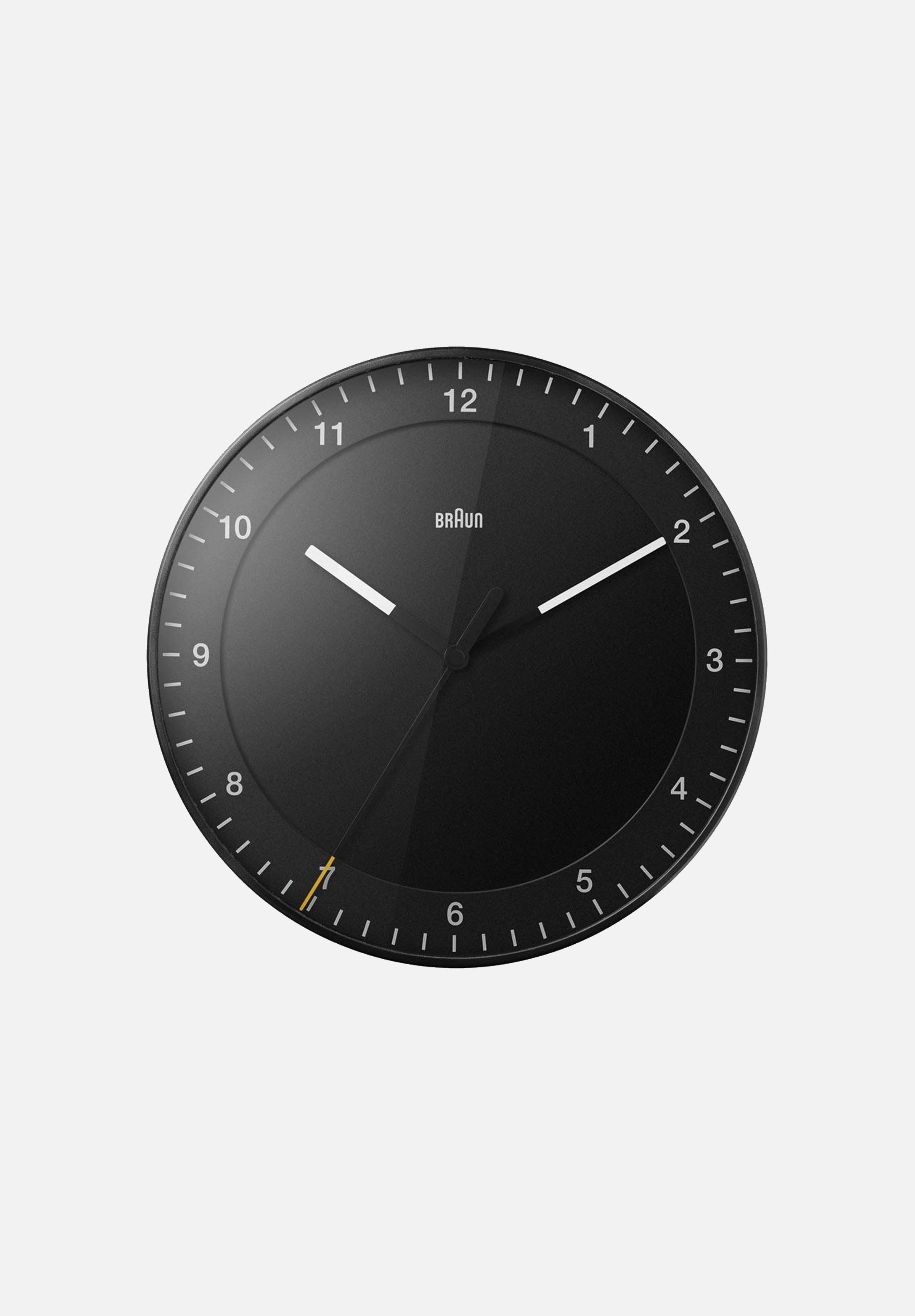 BC17 Wall Clock — Black