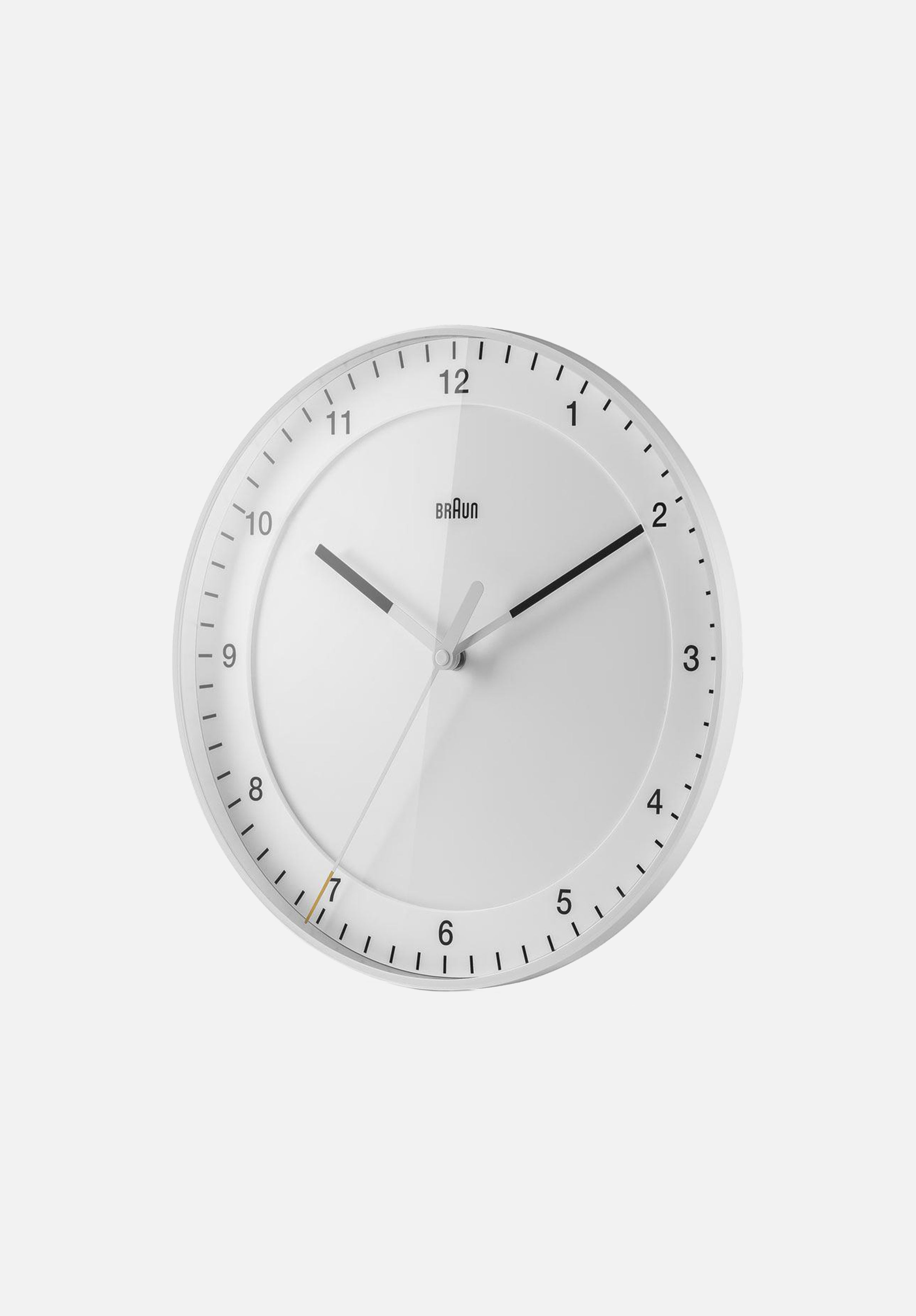 BC17 Wall Clock — White