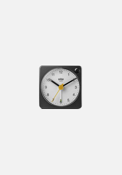 BC02X Alarm Clock — Black/White