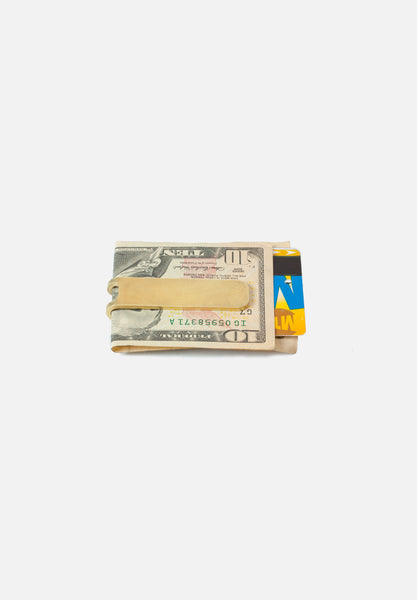 Brass Square Money Clip