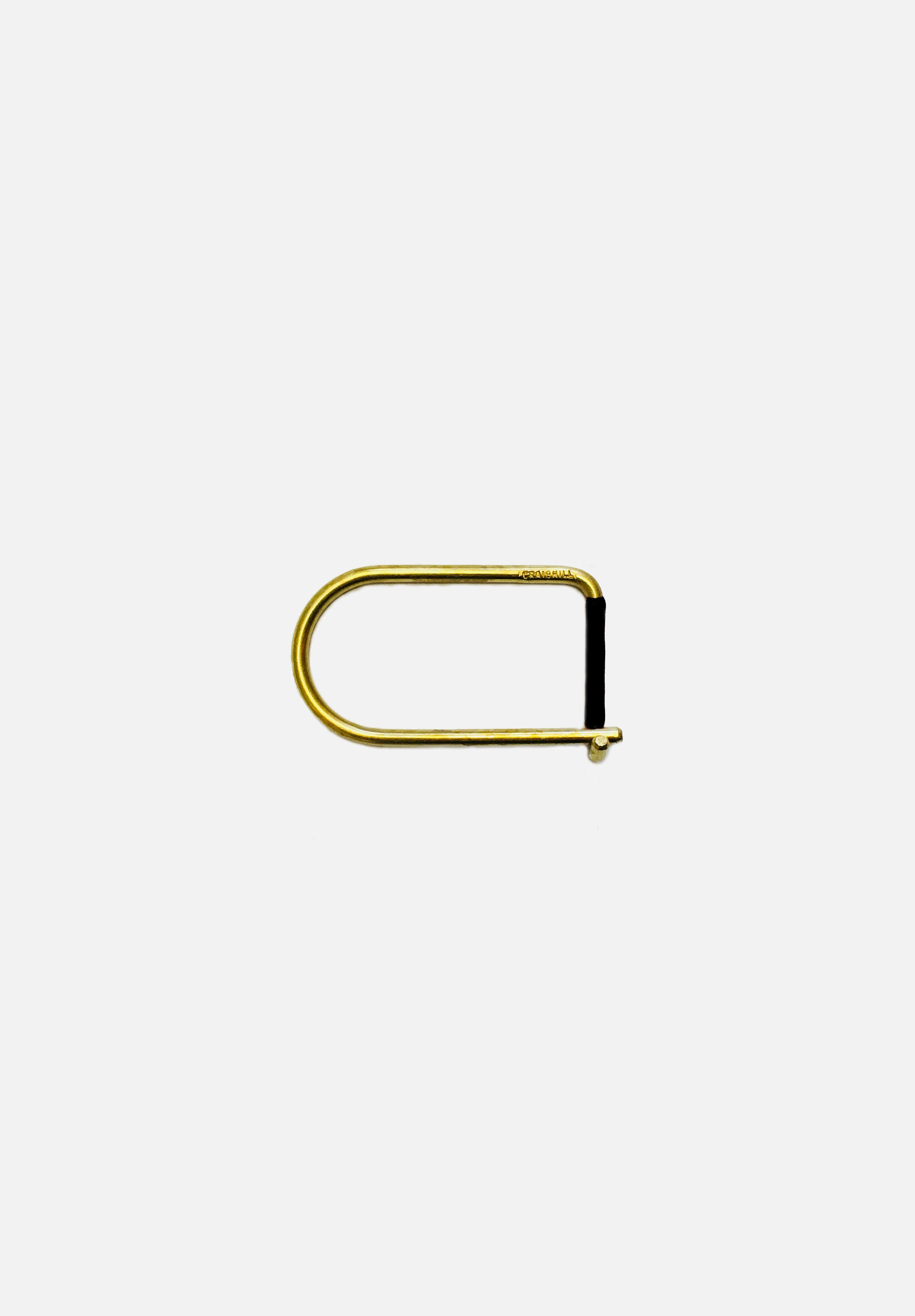 Wilson Keyring Brass Enameled-Craighill-Black-Average
