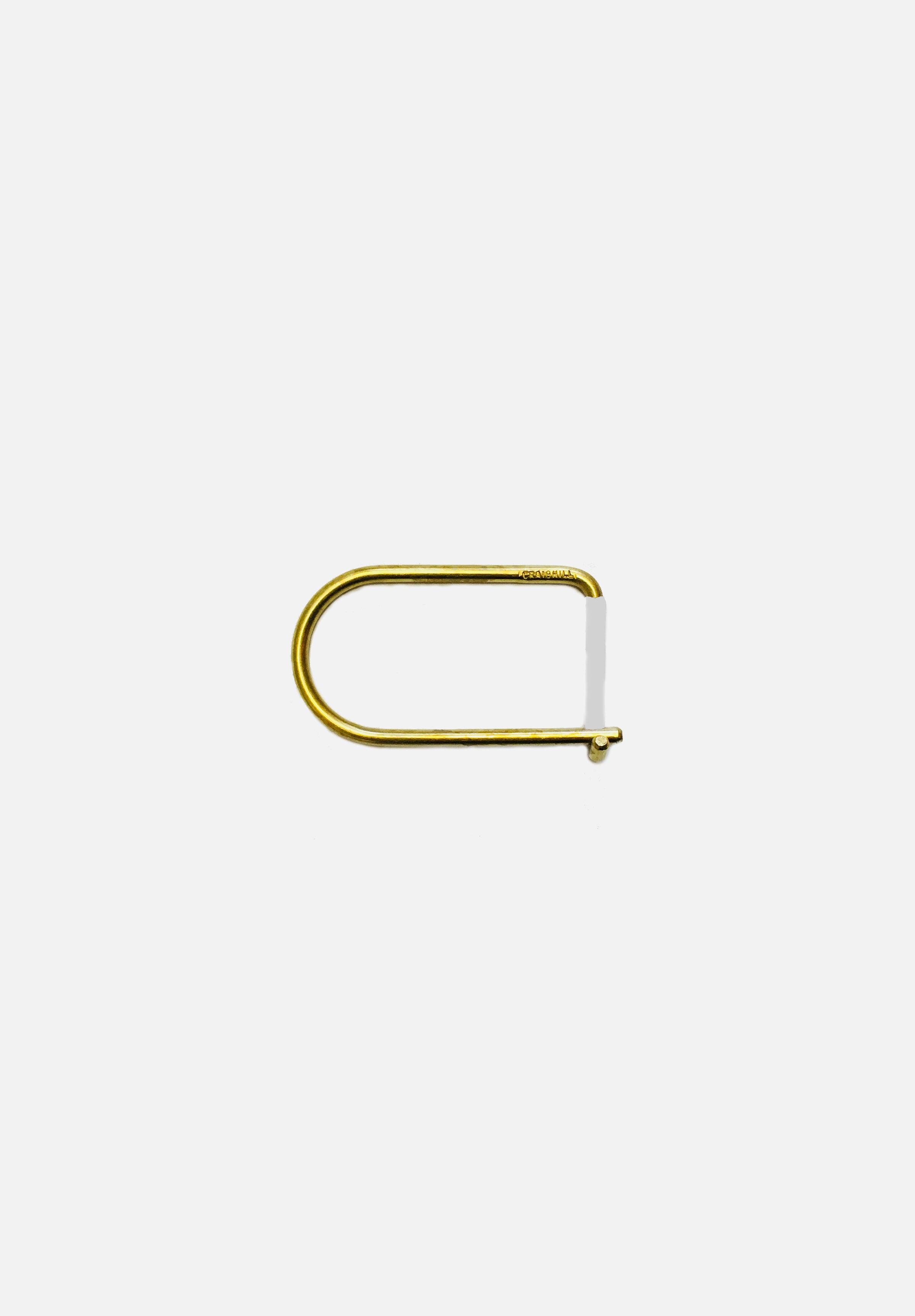 Wilson Keyring Brass Enameled-Craighill-White-Average