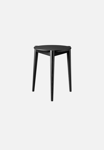 J160 SØS Stool Stine Weigelt FDB Møbler Black Danish Design Furniture Chairs Average Toronto Canada Design Store