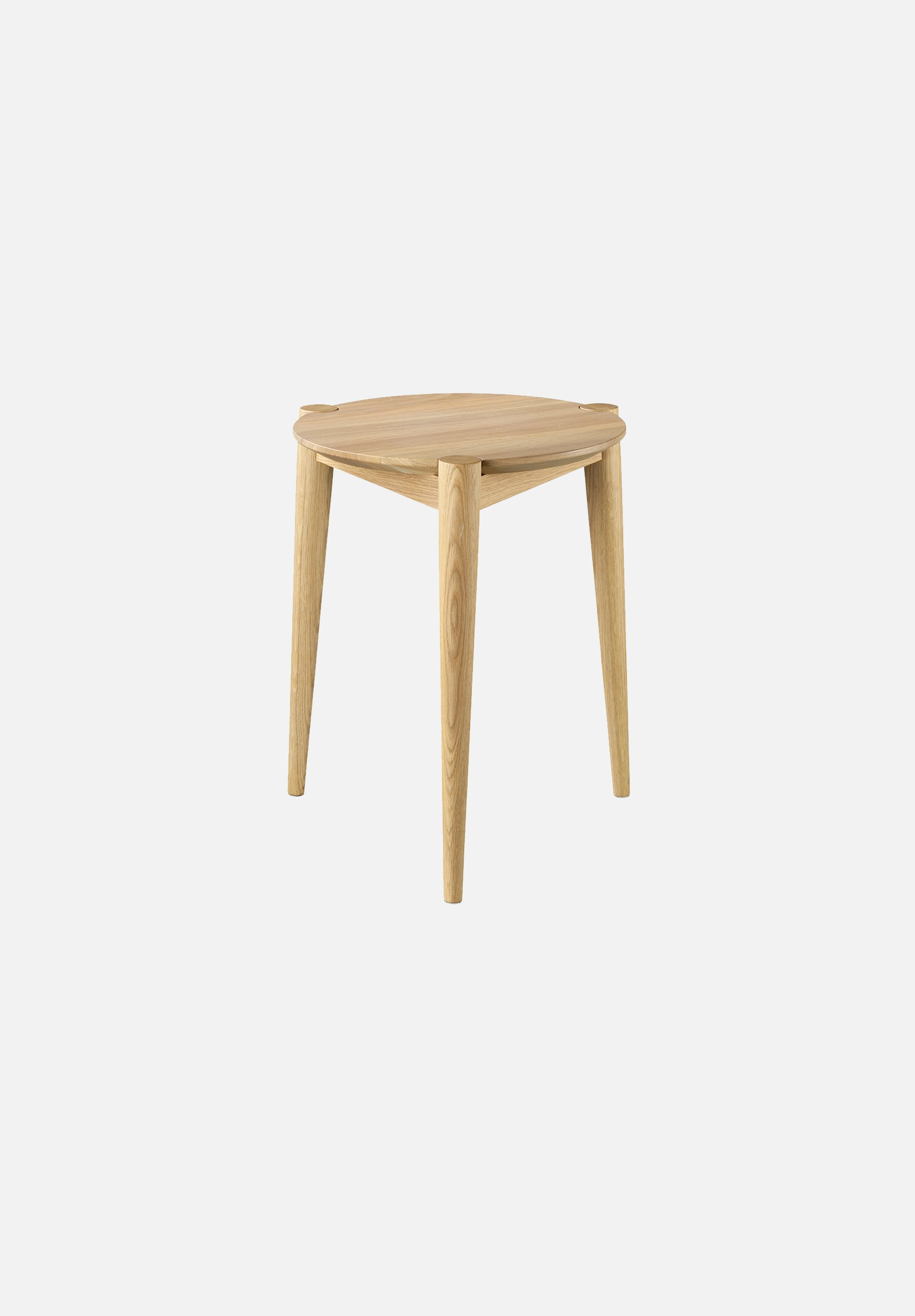 J160 SØS Stool Stine Weigelt FDB Møbler Oak Danish Design Furniture Chairs Average Toronto Canada Design Store