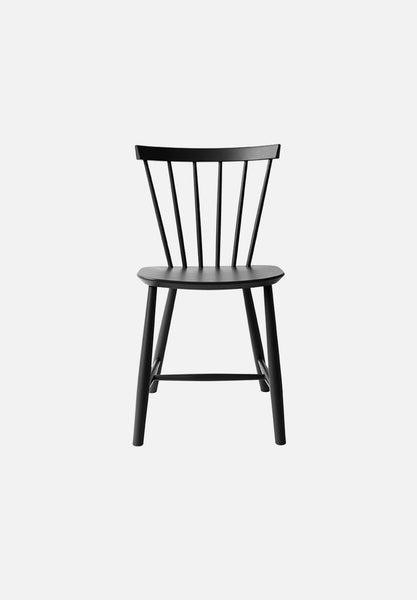 J46 Chair Poul Volther FDB Møbler Black Danish Design Furniture Chairs Average Toronto Canada Design Store