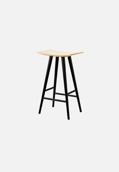 J153 Mikado — 65cm Stool Mikado FDB Møbler black Danish Design Furniture Chairs Average Toronto Canada Design Store