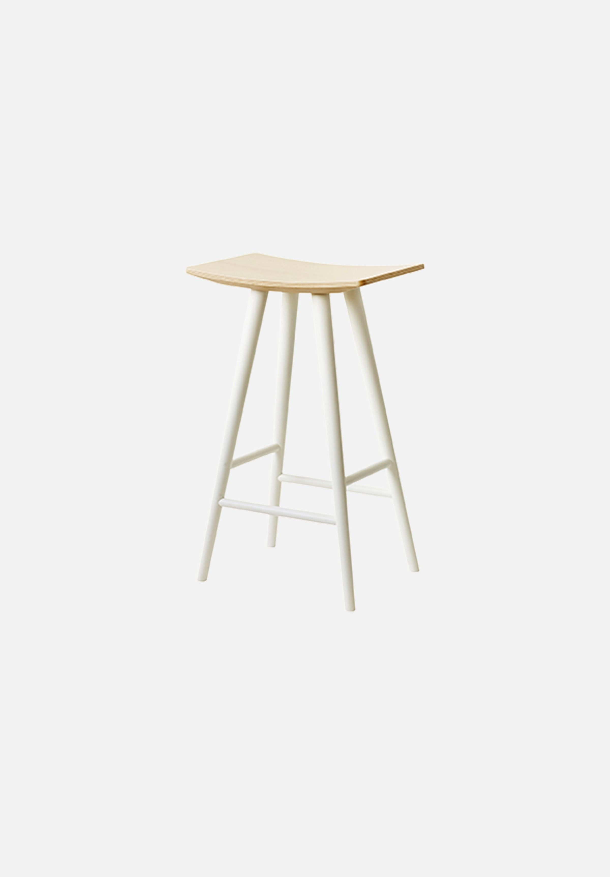 J153 Mikado — 65cm Stool Mikado FDB Møbler white Danish Design Furniture Chairs Average Toronto Canada Design Store