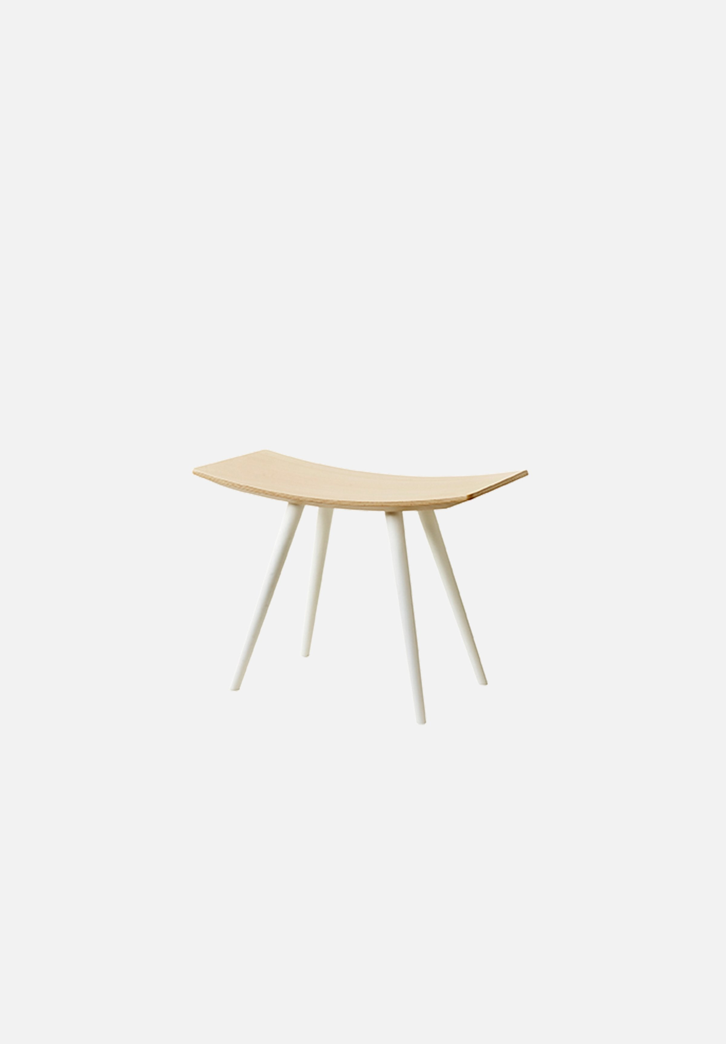 J154 Mikado Stool Mikado FDB Møbler white Danish Design Furniture Chairs Average Toronto Canada Design Store