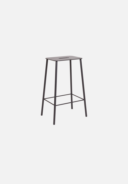 Adam Bar/Counter Stool — Mono Black-Toke Lauridsen-Frama-Counter Height-Average