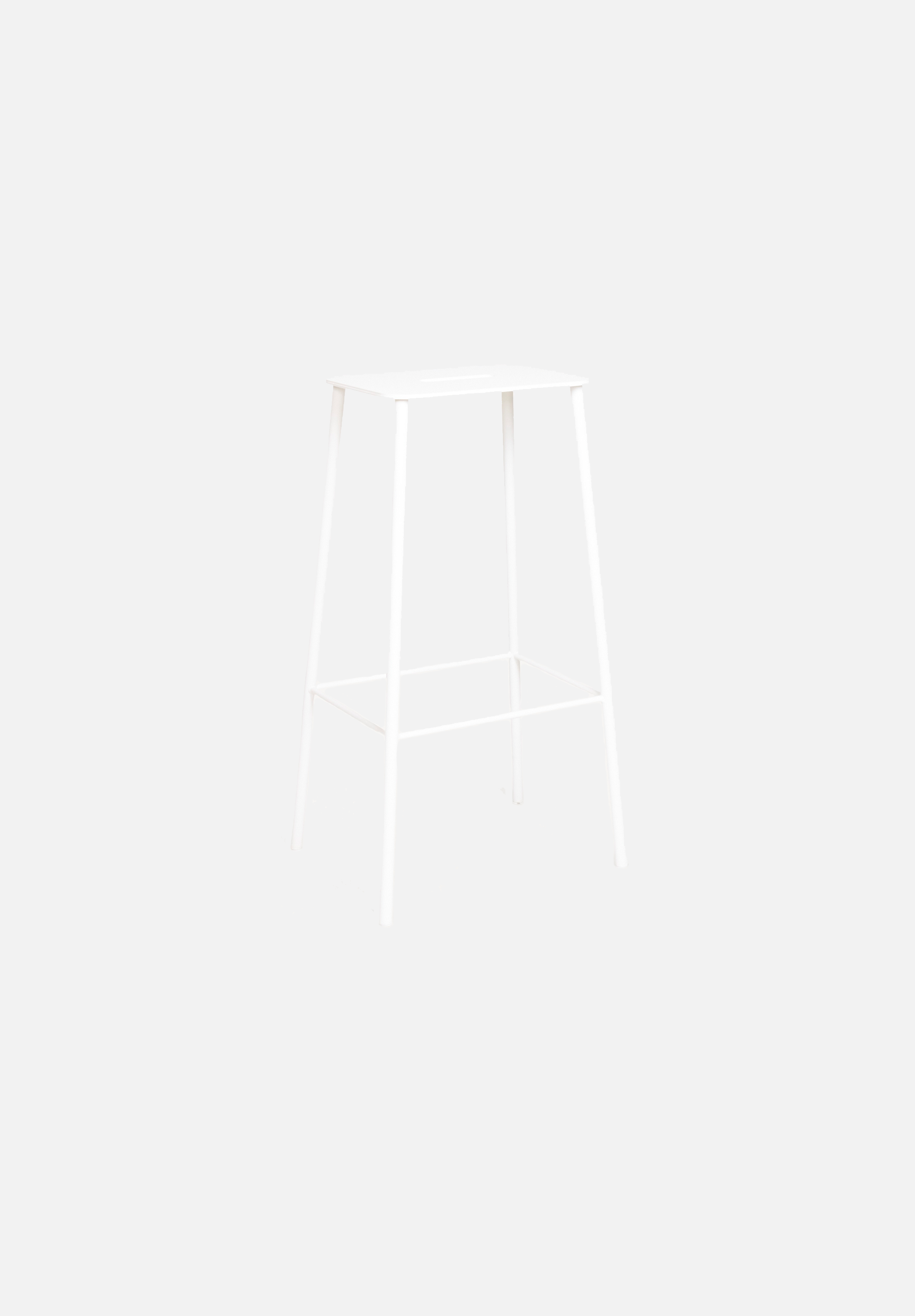 Adam Bar/Counter Stool — Mono White