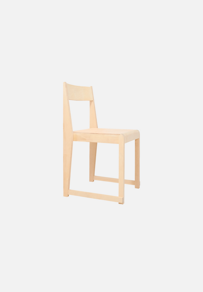 Chair 01 — Leather Seat