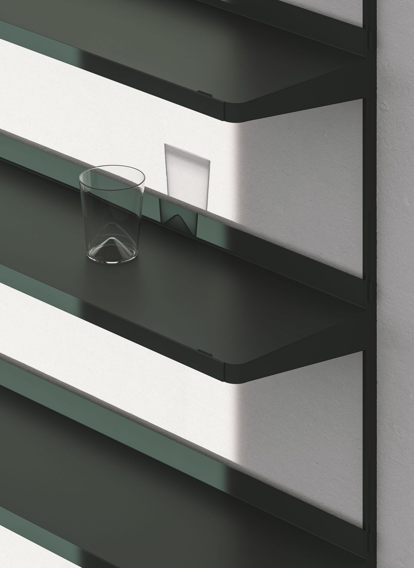 Click Shelf — Large Dark Green