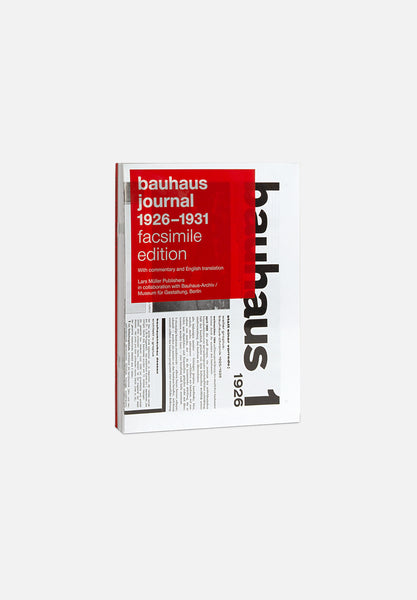 Bauhaus Journal 1926–1931