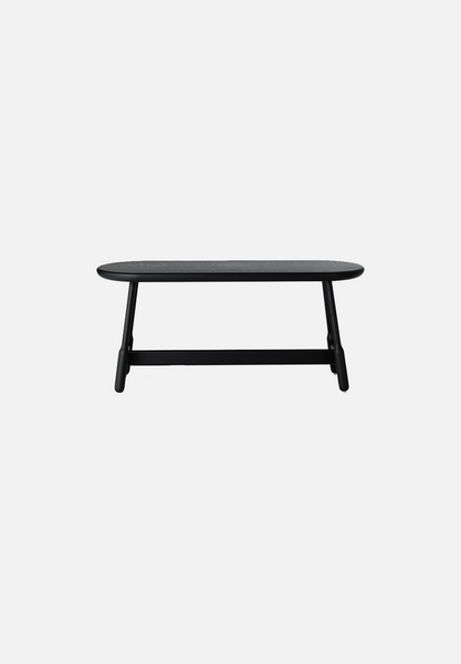 Albert Bench — Black Stained Oak