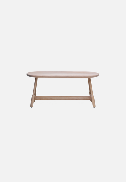 Albert Bench — White Oiled Oak