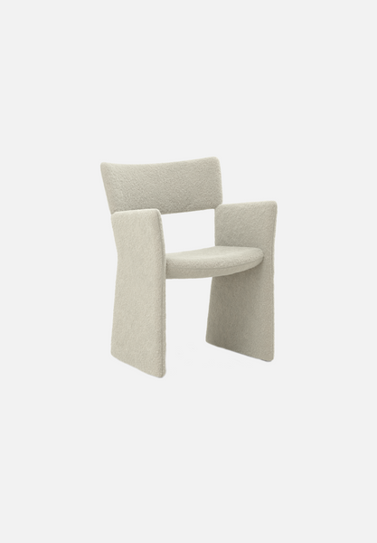 Crown Armchair — Silas Wool, Eggshell