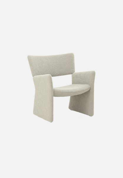 Crown Easychair — Silas Wool, Eggshell