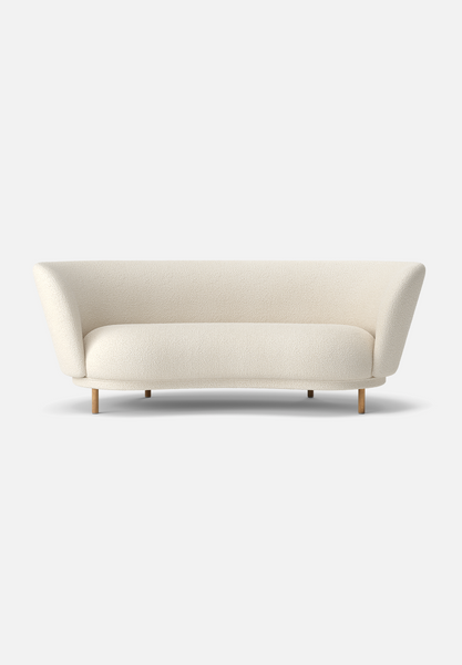Dandy Sofa — Bute Storr Eggshell-Massproductions-Two Seater-Natural Oak Legs-AVG